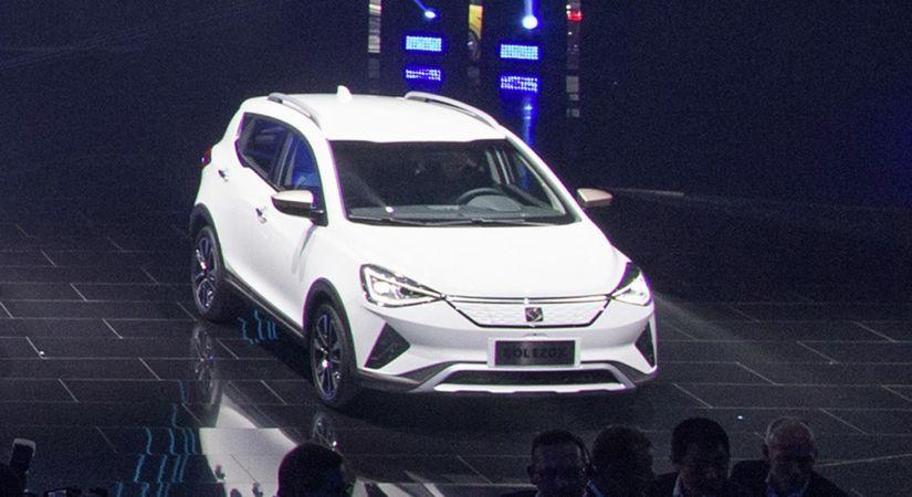 Jac mostra T40 elétrico na China