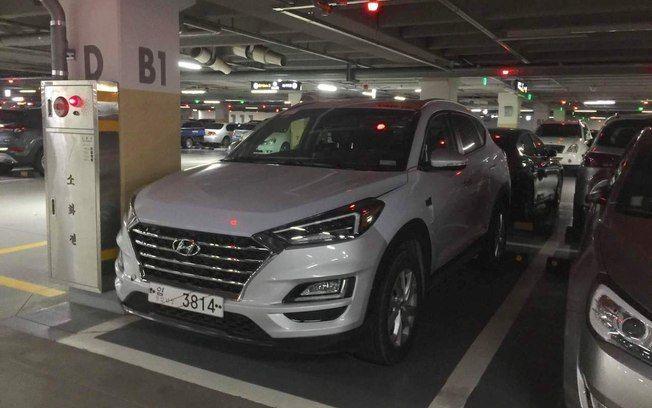 Nova Hyundai Tucson é flagrada antes da estreia