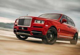 Rolls-Royce apresenta seu primeiro SUV