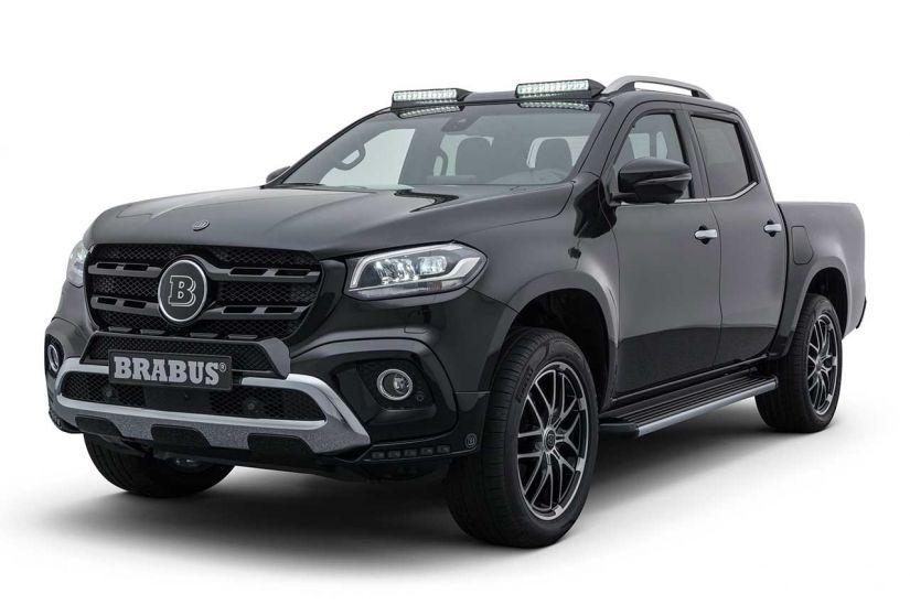 Brabus confirma que vai vender sua versão da Classe X no Brasil