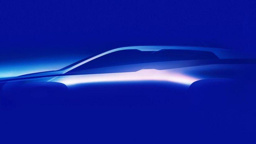 BMW divulga teaser do seu novo crossover elétrico