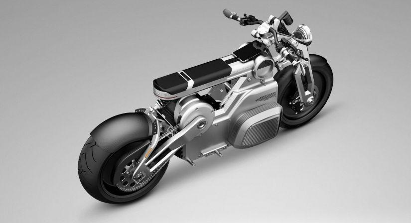 Empresa mostra conceitos de moto elétrica com tablet no lugar do painel