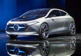 Mercedes Benz anuncia novo modelo de elétrico compacto na França