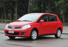 Nissan completa recall de airbags defeituosos do Tiida no Brasil