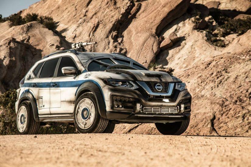 Nissan apresenta versão do Rogue inspirado em novo filme de Star Wars