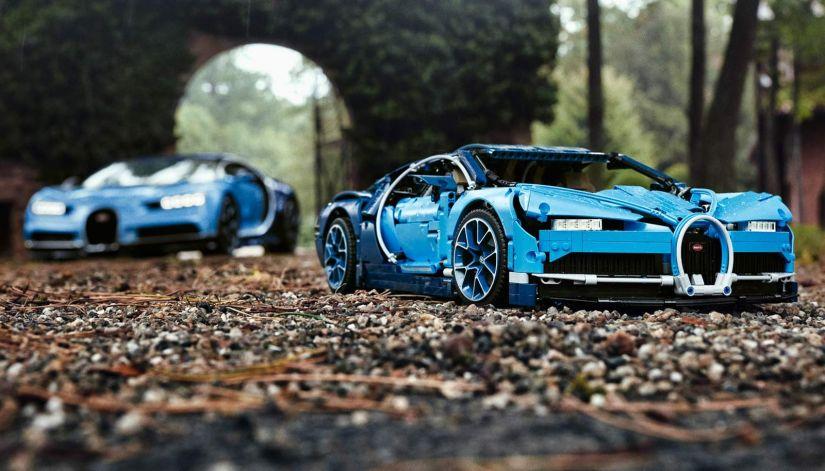Bugatti Chiron ganha versão em lego