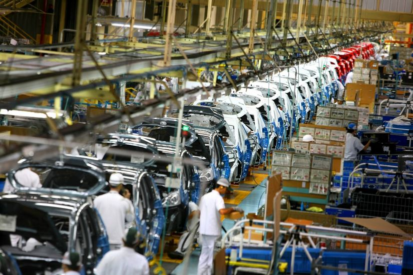 Produção automobilística cai 15% em virtude da greve dos caminhoneiros