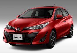 Toyota apresenta Yaris no Brasil, nas versões hatch e sedan