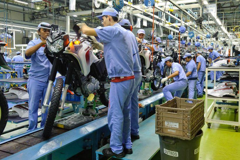 Produção de motos cresce 24,3% em maio
