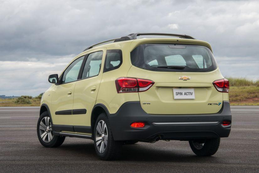 Chevrolet apresenta novo visual para Spin