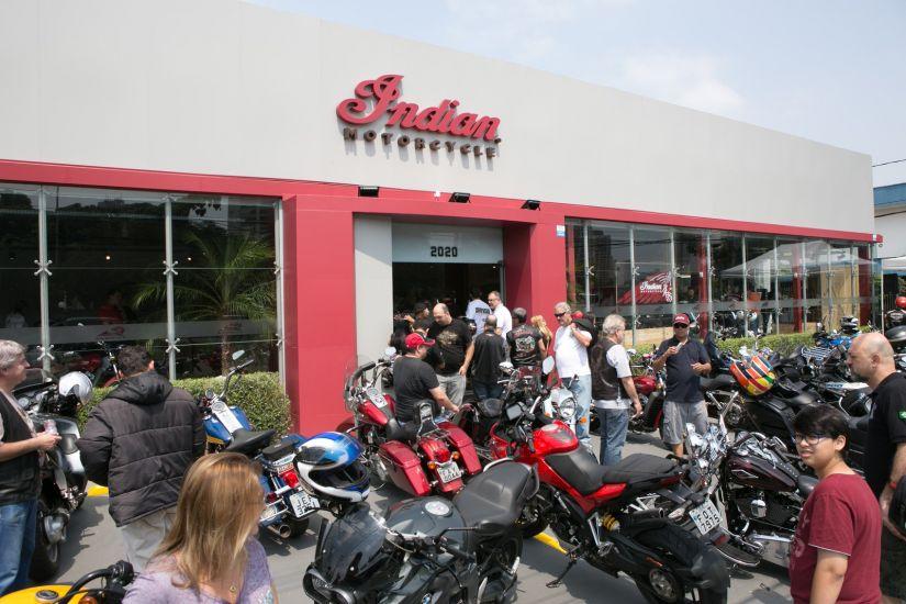 Indian não venderá mais motocicletas no Brasil