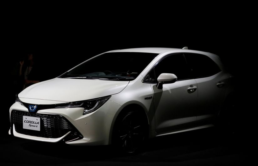 Toyota apresenta nova geração do Corolla Sport hatch