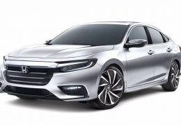 Honda Insight é registrado no Brasil