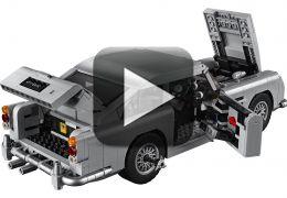 007: Empresa recria carro do espião utilizando apenas peças de Lego