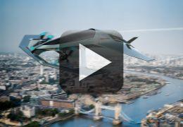 Aston Martin apresenta conceito de carro voador de luxo