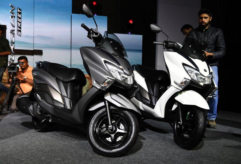 Suzuki apresenta nova geração da Burgman 125