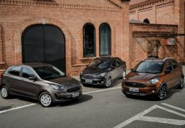 Ford Ka 2019 reestilizado chega custando a partir de R$ 45.490