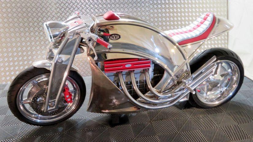 Levis Motorcycles lança modelo Café Racer V6