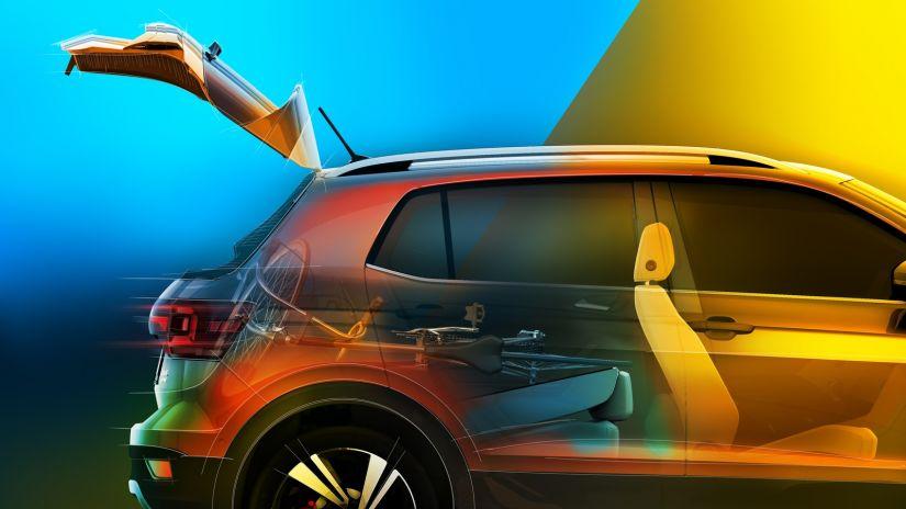 Volkswagen revela imagem da traseira do novo T-Cross