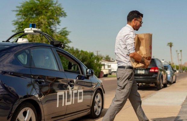 Serviços de entregas com carros autônomos ganham força nos EUA