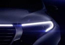 Mercedes divulga teaser do primeiro SUV 100% elétrico da montadora