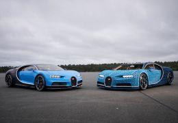 Bugatti e Lego criam Chiron feito com 1 milhão de peças