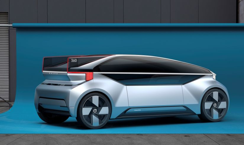 Volvo apesenta conceito de carro autônomo para concorrer com voos de curta distancia