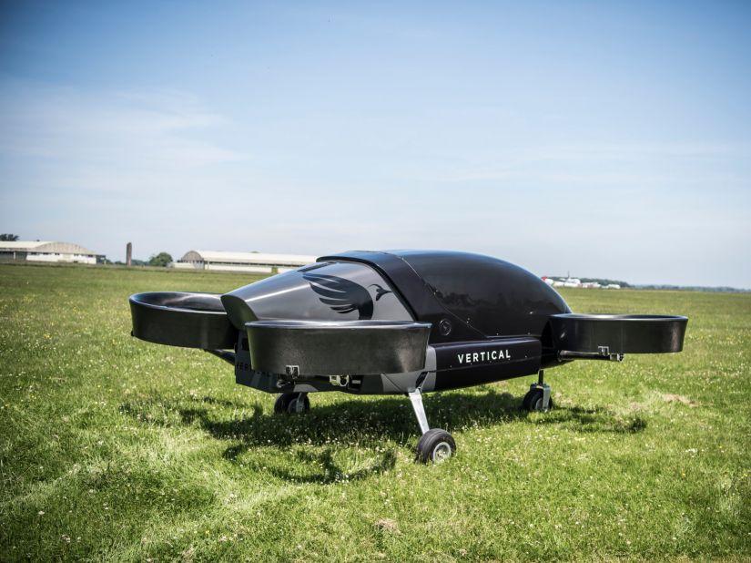 Startup inglesa testa carro voador