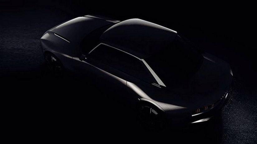 Peugeot divulga imagem teaser de novo conceito retro