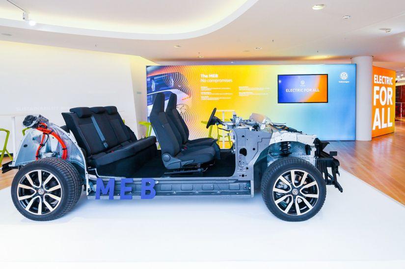 Volkswagen apresenta nova base para carro elétrico popular