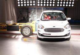 Ford Ka passa por mudanças e ganha 3 estrelas na avaliação do Latin NCap