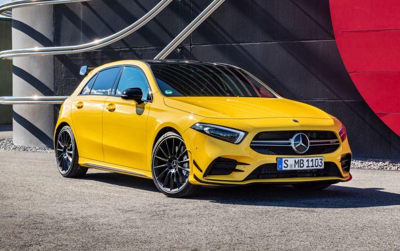 Mercedes apresenta novo modelo de esportivo de entrada