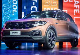Volkswagen apresenta oficialmente T-Cross no Brasil