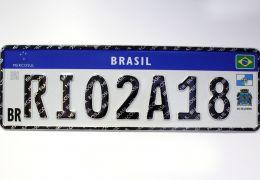 STJ libera placas do Mercosul temporariamente