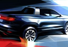 Volkswagen apresenta conceito para rivalizar com Fiat Toro