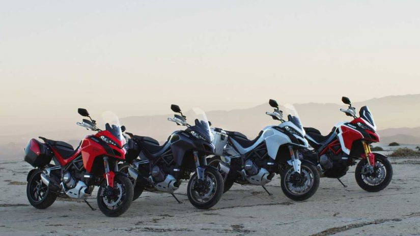 Ducati lança nova moto Multistrada 1260 no Brasil por R$ 74.900