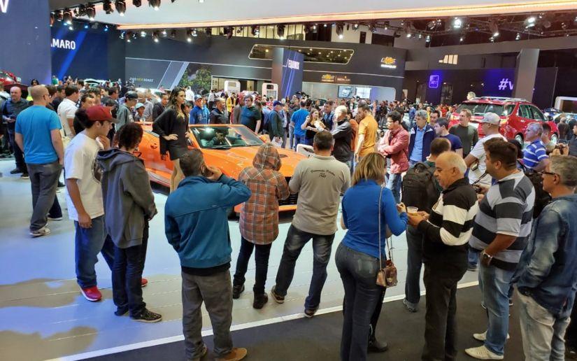 Salão do Automóvel de SP abre para o grande público