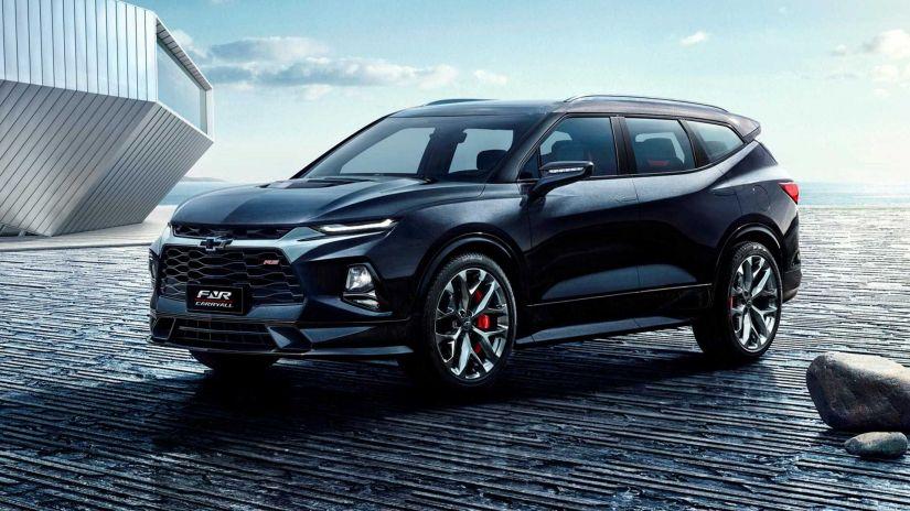 Chevrolet Blazer ganha versão com três fileiras na China
