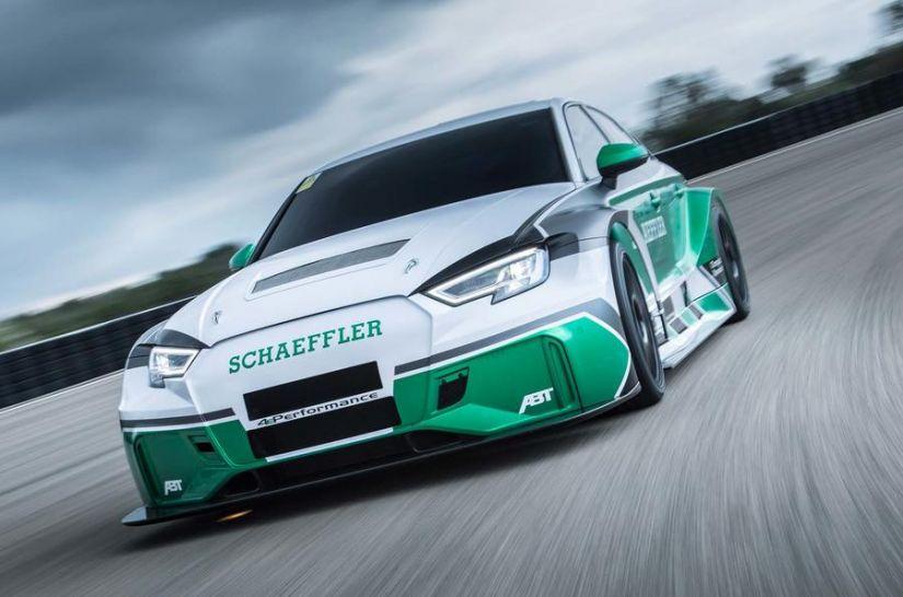Audi apresenta RS 3 Elétrico com um motor para cada roda