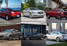 GM anuncia lista de carros que não serão mais fabricados