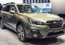 Subaru anuncia recall do Outback 2018