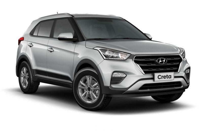 Hyundai começa a exportar Creta nacional para a Colômbia