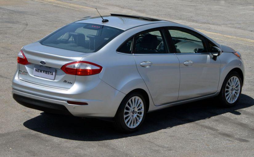 Ford deixará de vender Fiesta Sedan no Brasil