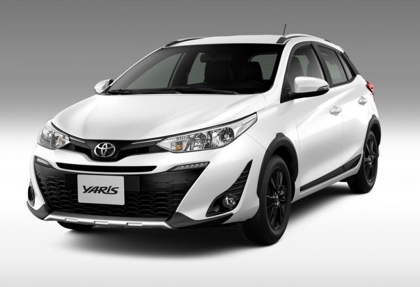 Toyota lança novo Yaris com pegada aventureira
