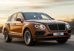 Bentley lança SUV mais rápido do mundo
