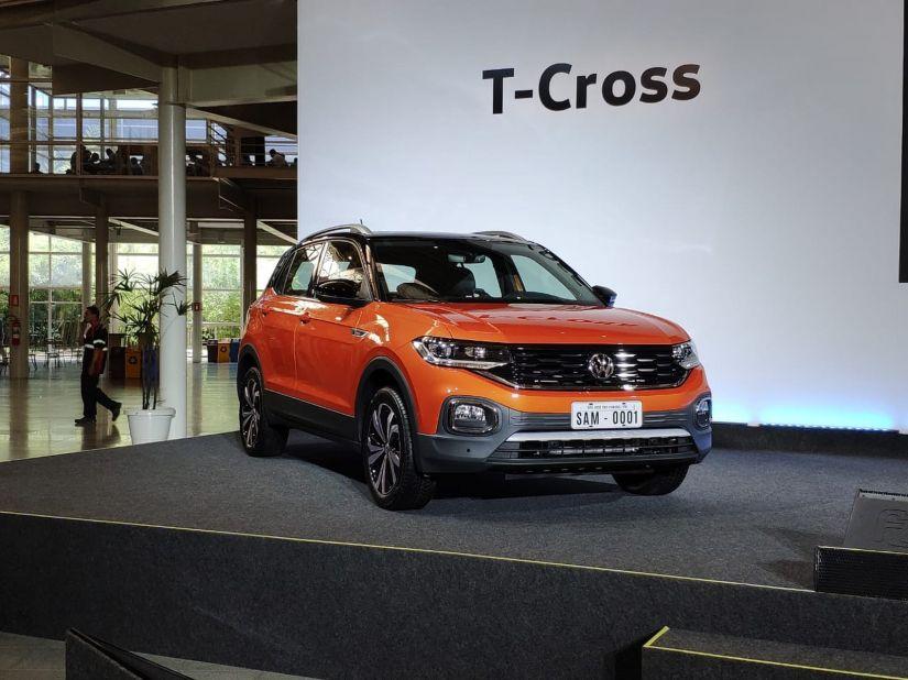 Novo T-Cross chega ao Brasil custando entre R$ 84.990 e R$ 109.990