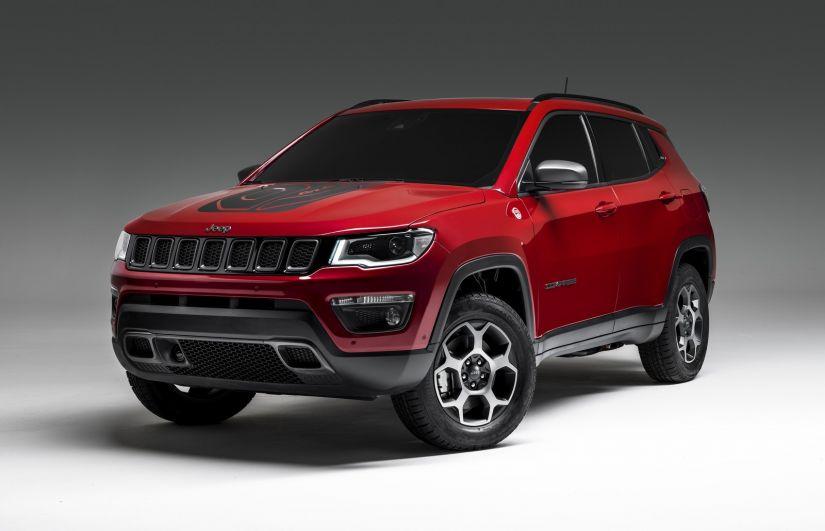 Jeep Renegade e Compass ganha configurações híbridas