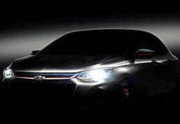 Chevrolet apresenta teaser do novo Prisma