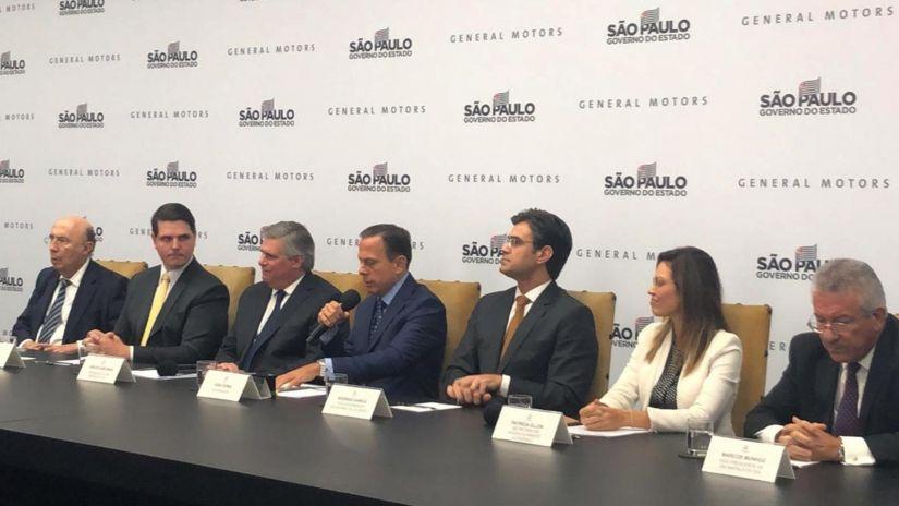 General Motors confirma investimento de R$ 10 bilhões em São Paulo