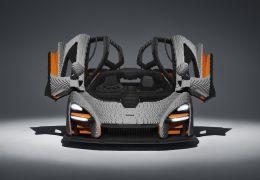 McLaren Senna ganha versão feita de Lego